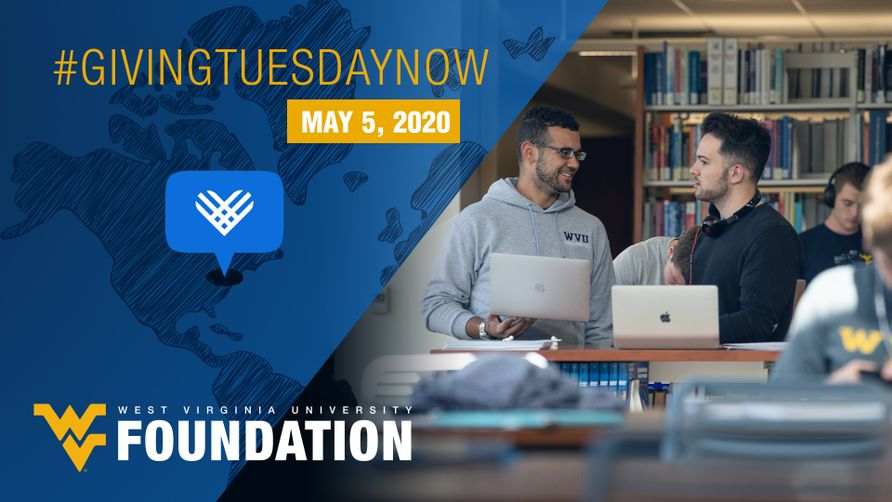 WVU supporters are being asked to step up for students Tuesday, May 5, during #GivingTuesdayNow, a global day of giving and unity to help meet the need caused by COVID-19.