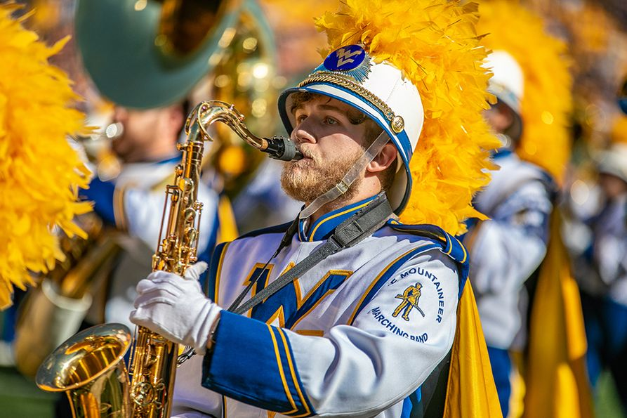 An institution at West Virginia University for more than 100 years, the Mountaineer Marching Band will one day have a home of its own. WVU and dedicated alumni are working together to pursue a practice facility for the 330-member West Virginia University