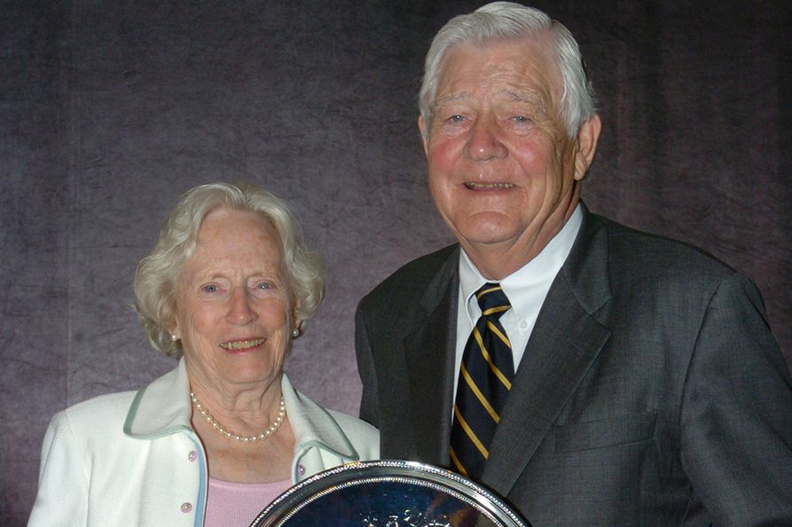 Carolyn Blaney (L) and W. Gerald Blaney (R)