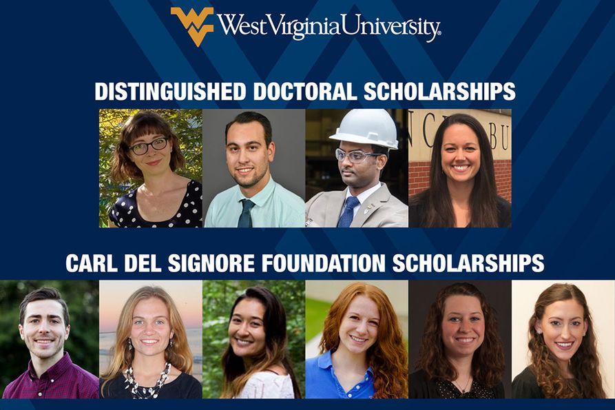 WVU Foundation Graduate Scholarship Winners