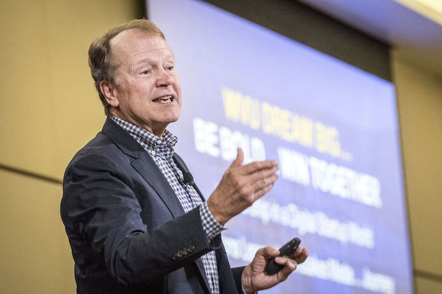 "John Chambers talks about his vision for West Virginia as a ""startup state."""