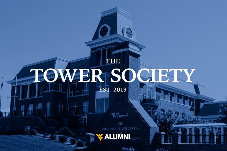 Betty Barrett has made a contribution to the WVU Alumni Tower Society in memory of Steve Douglas, the former WVU Alumni Association president and CEO.