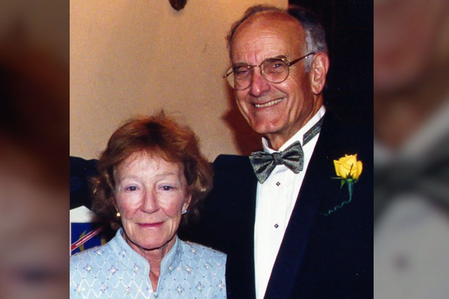 The legacy of Drs. John T. (Jack) and June Richie Chambers of Charleston will live on through a planned gift made by the late alumni to West Virginia University.