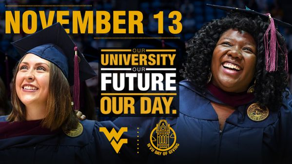 November 13: WVU Day of Giving