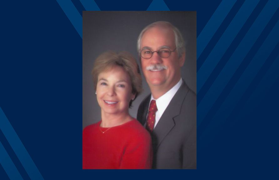 Larry Pickering, M.D., FAAP, and his wife, Margaret, recently completed their longtime pledge to establish an endowed chair position.