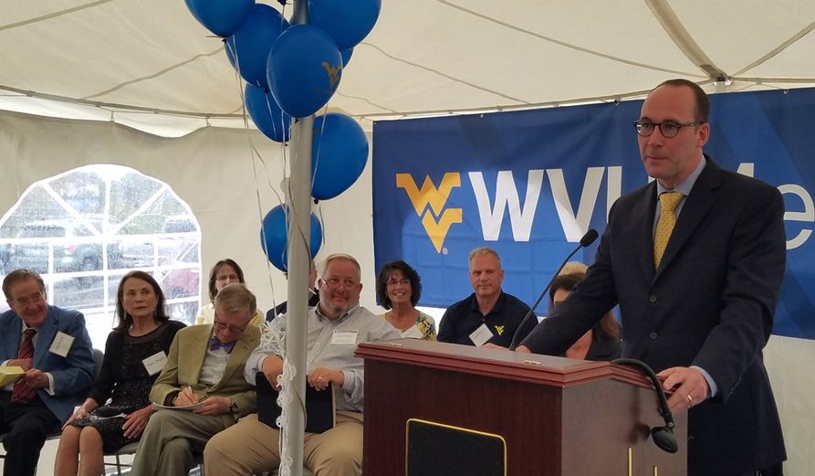 Albert L. Wright, Jr., president and CEO of the WVU Health System