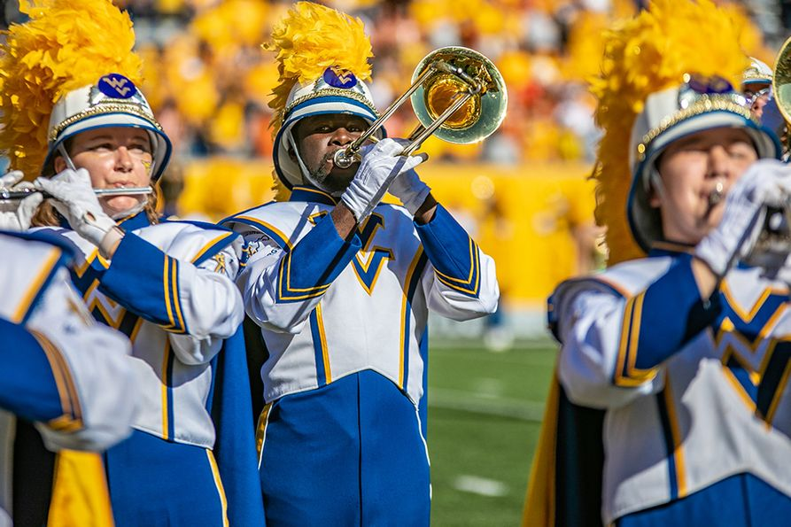 Nearly 600 donors contributed $92,000 to the West Virginia University Foundation's Pride Travel Fund this fall to support the Mountaineer Marching Band.