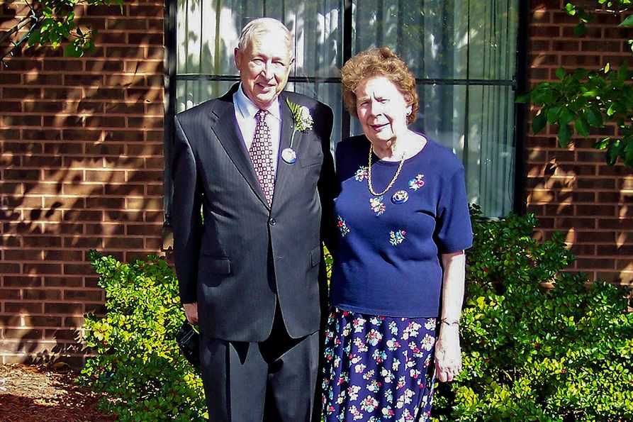 In total, the Wadsworths have donated $8 million to the Statler College, along with many decades of service and time to the department and college.