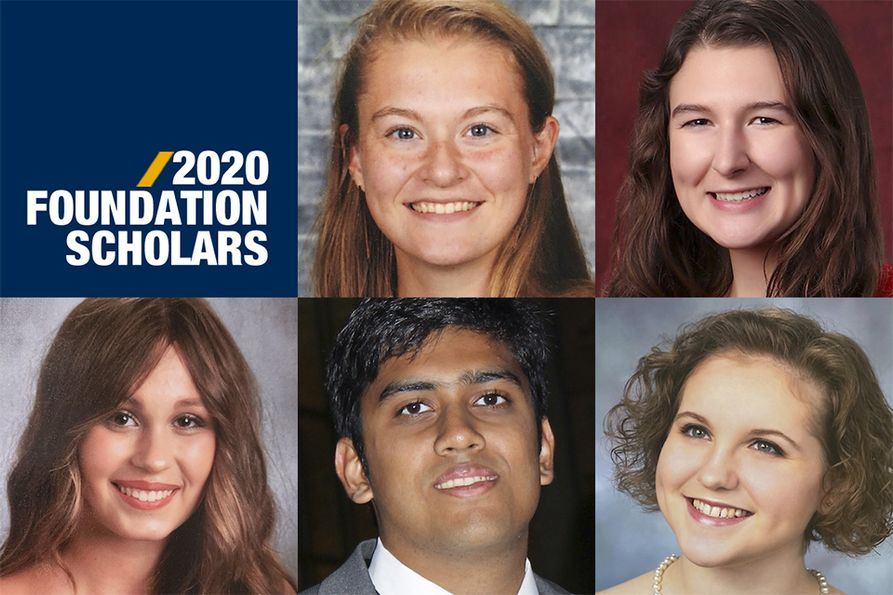 2020 WVU Foundation Scholars