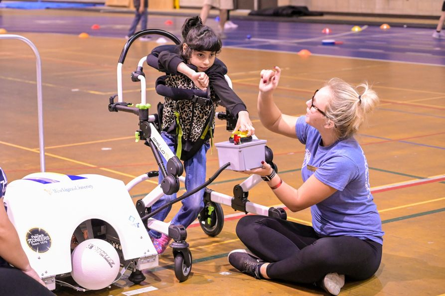 Through a new grant, the WVU Center for Excellence in Disabilities is working to provide children aged 3-12 with mobility assistance and other durable medical equipment not covered by West Virginia Medicaid or private insurance.