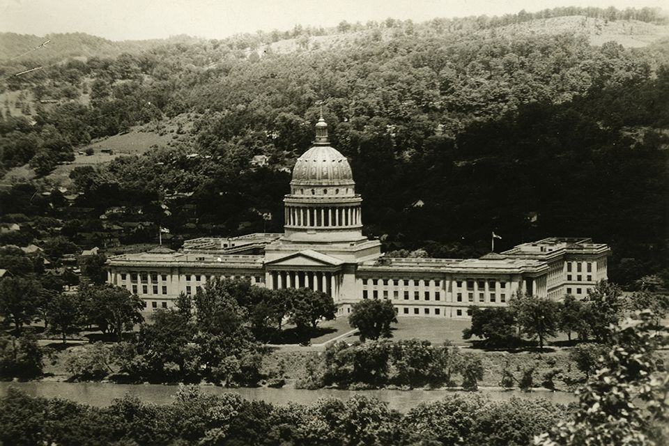 West Virginia State Capitol building.