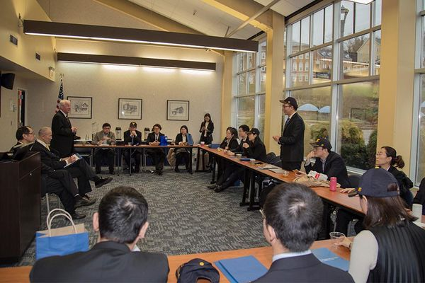 Picture of Chinese executive training at WVU.