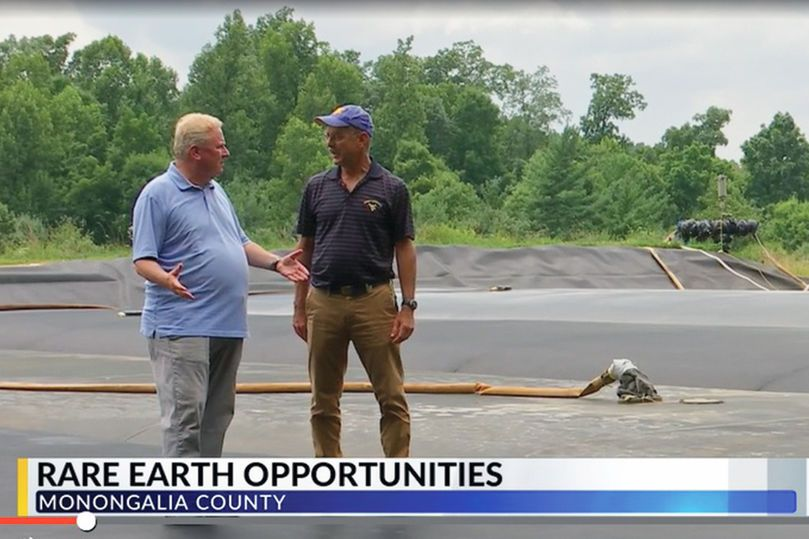 Dr. Paul Ziemkiewicz speaks to Mark Curtis of Charleston's WOWK News about rare earth elements