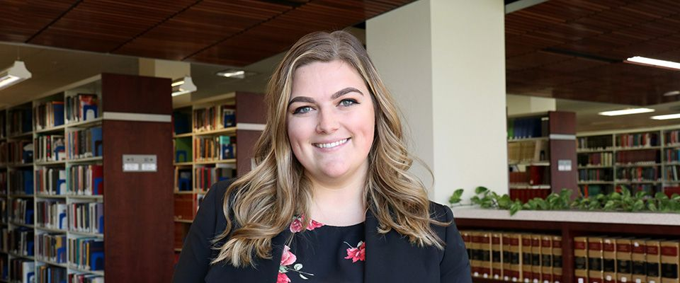WVU Law Student Ambassador Lauren Mahaney '20