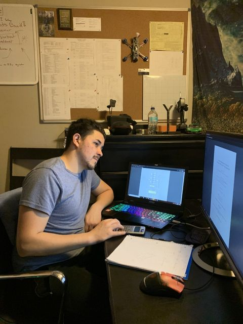 "Jacob Loverde, a 2019-2020 RAP student, reviews a thesis titled ""A Low-Power Optoelectronic Characterizer: LOCC and III-V Nitride Based LEDs."""