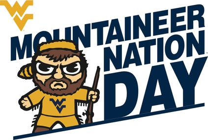 Mountaineer Nation Day graphic with Tokyodachi mascot