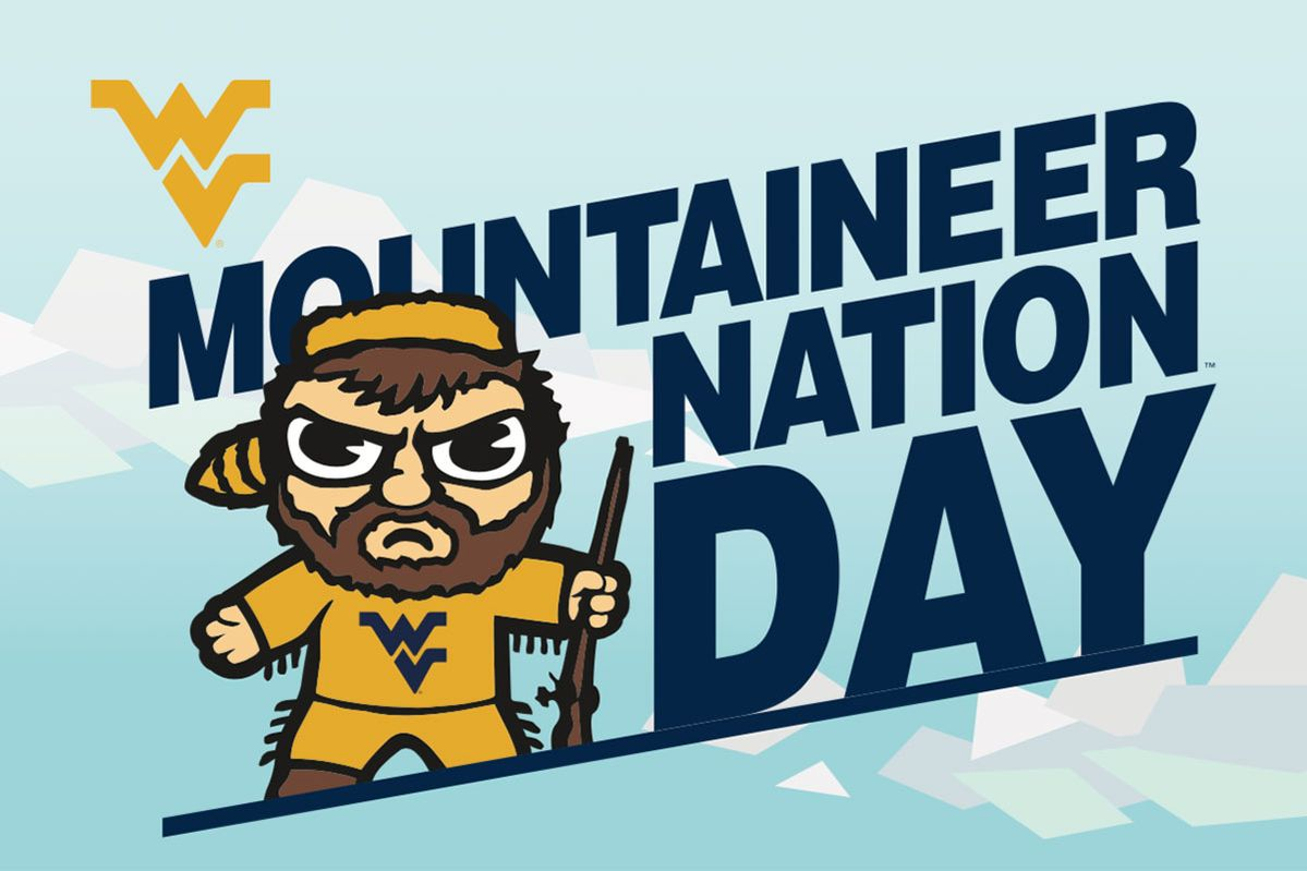 Mountaineer Nation Day postcard