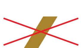 Diagonal line in different color