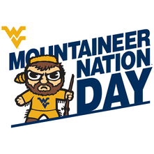 Mountaineer Nation Day logo