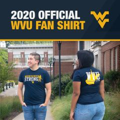 Official fan shirt with two students