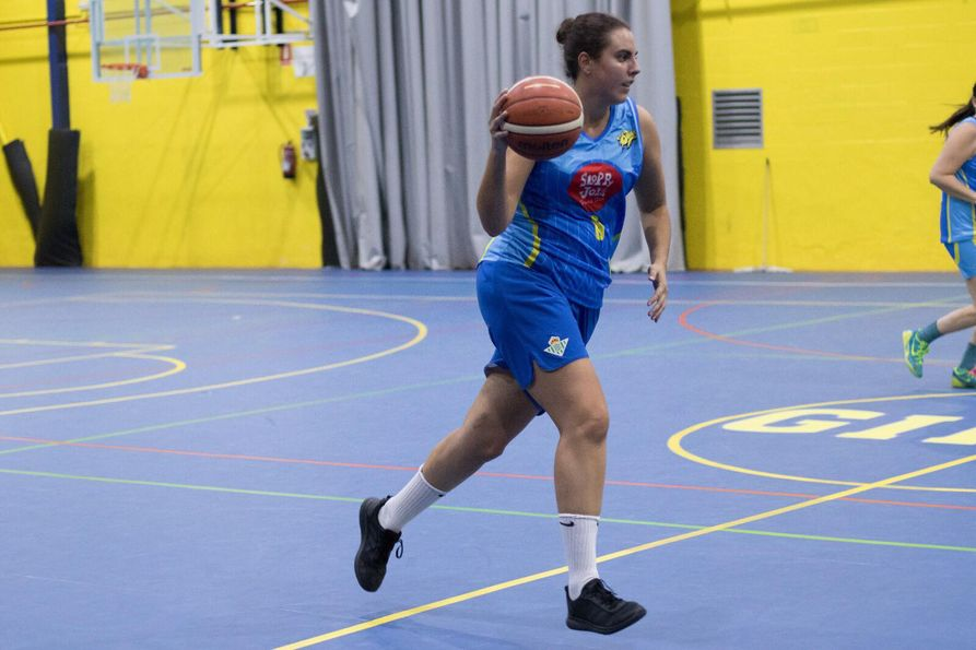 A Tech grad playing basketball in Spain