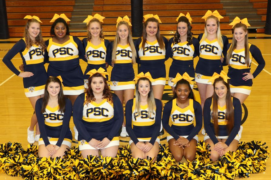 WVU Potomac State College Cheerleading Squad