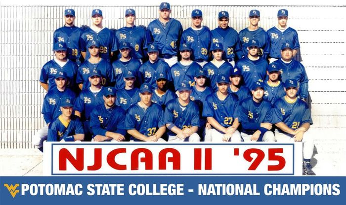 Potomac State College 1995 Baseball Team