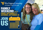 Homecoming and Family Weekend at WVU Potomac State College