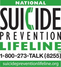 The National Suicide Prevention Lifeline is a 24-hour, toll-free, confidential suicide prevention hotline available to anyone in suicidal crisis or emotional distress. By dialing 1-800-273-TALK (8255), the call is routed to the nearest crisis center in ou