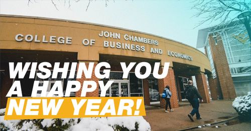 Chambers College Wishes You a Happy New Year