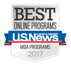 Seal for best online programs-MBA