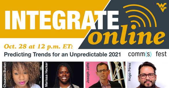 Predicting Trends for an Unpredictable 2021 Integrate Online October 28 at 12 p.m. ET