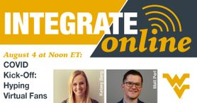 Integrate Online August 4 at Noon ET: COVID Kick-Off: Hyping Virtual Fans