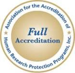 AAHRPP Badge: Full Accreditation
