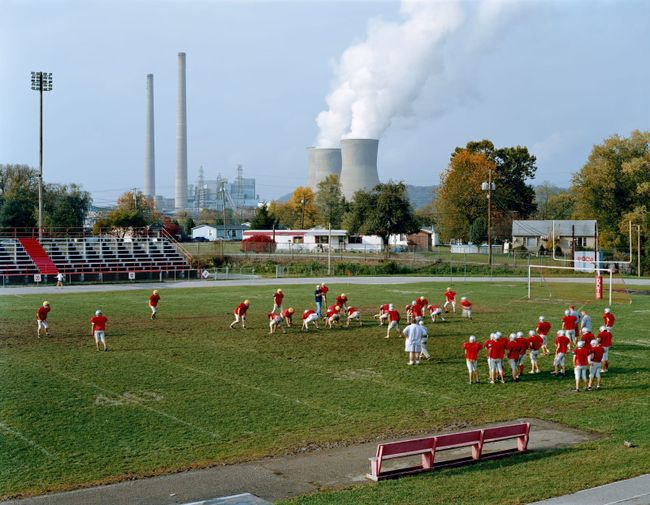 Poca High School and John Amos Power Plant, West Virginia