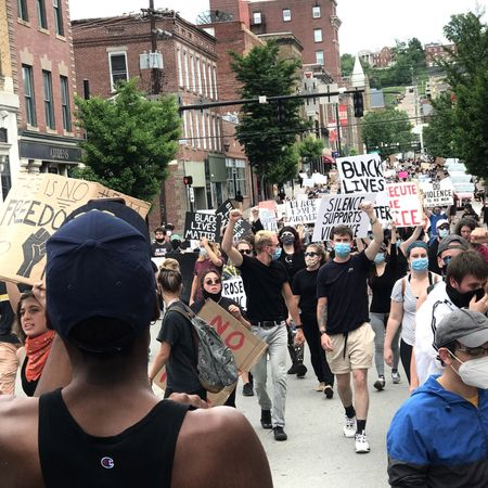 Movement for Black Lives Protest in Morgantown