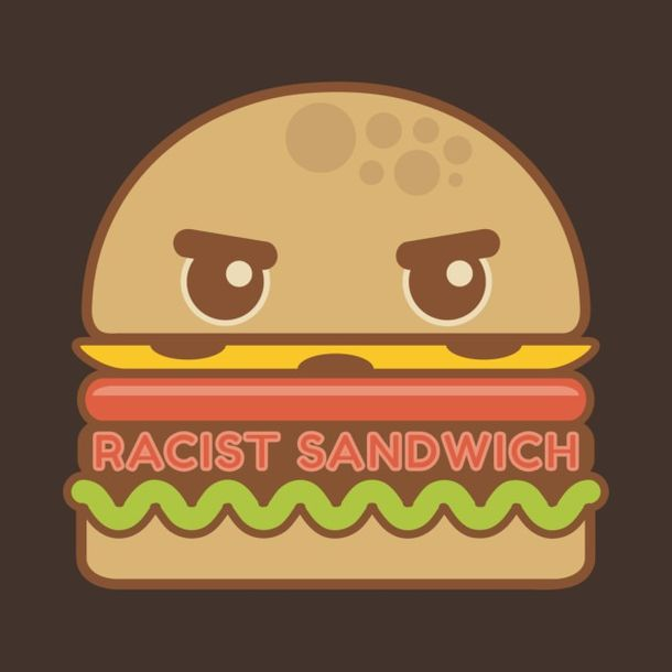 Cover for Racist Sandwich