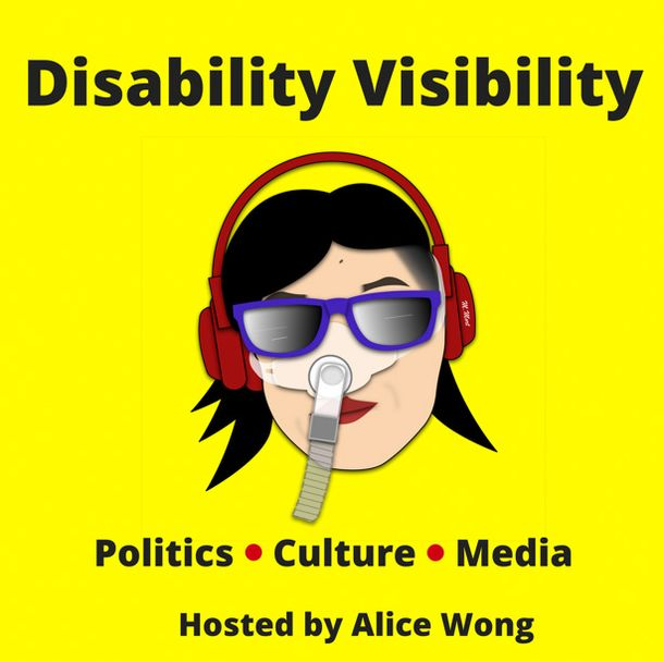 Disability Visibility podcast art