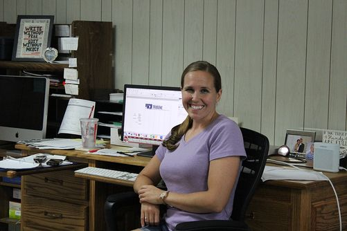 Gerri Peterson, Publisher/Editor of the Hooker County Tribune