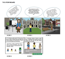 TV storyboard for capstone