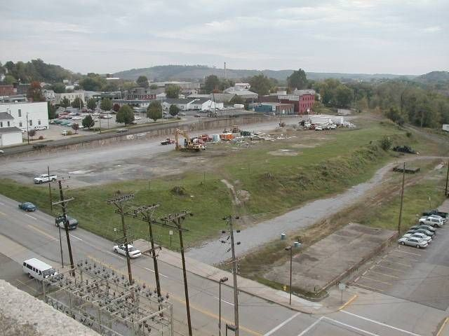 A 'before' shot of a demolished coal and gas plant in Parkersburg, West Virginia. (Submitted photo)