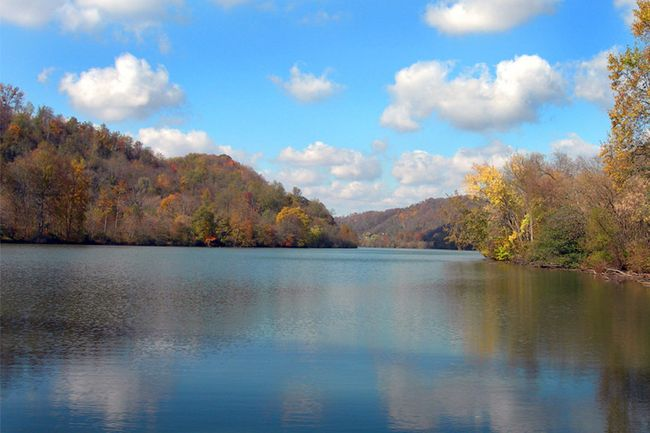 Picture of Monongahela River near Morgantown, West Virginia