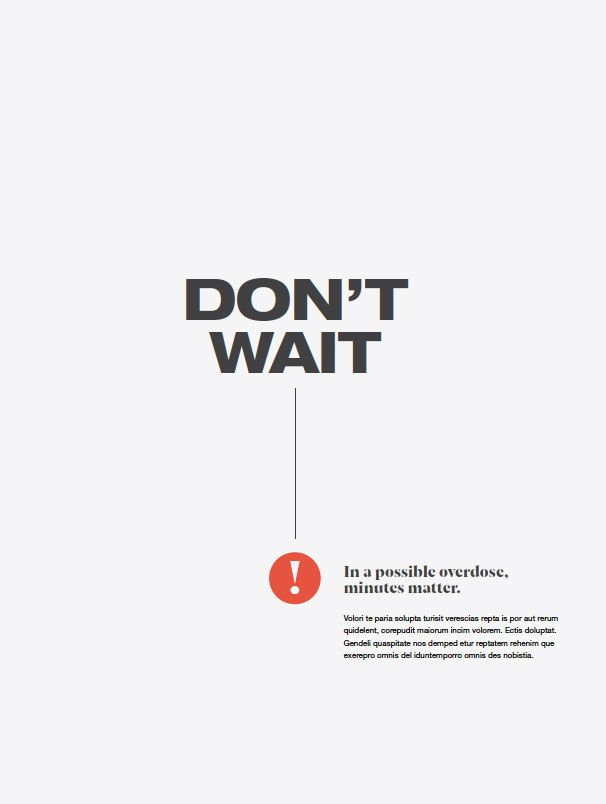 1st poster in 2nd series reading Don't Wait