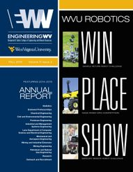 Engineering WV Magazine - Win place show