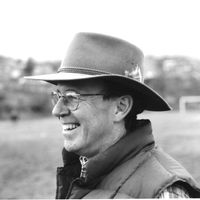 portrait of Jim Patton in stetson hat
