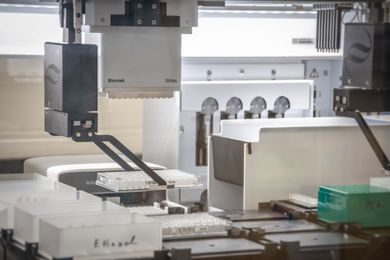 COVID-19 testing laboratory