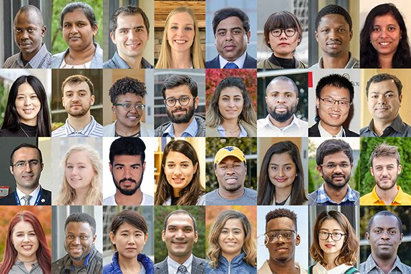 Diverse students and faculty at Statler College