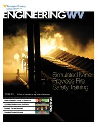 Engineering WV - Simulated mine provides fire safety training