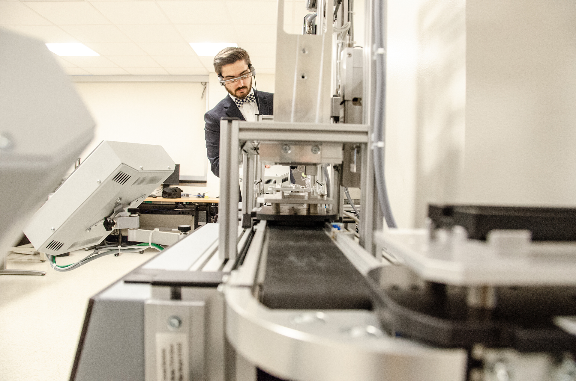 West Virginia Universitywill work with $1.4 million of the$3.8 millionEPSCoRRII Track-2 grant from the National Science Foundation to bring smart manufacturing processes to the Mountain State. (WVU Photo/Paige Nesbit)