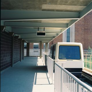 Archived Photo of PRT Car at Station